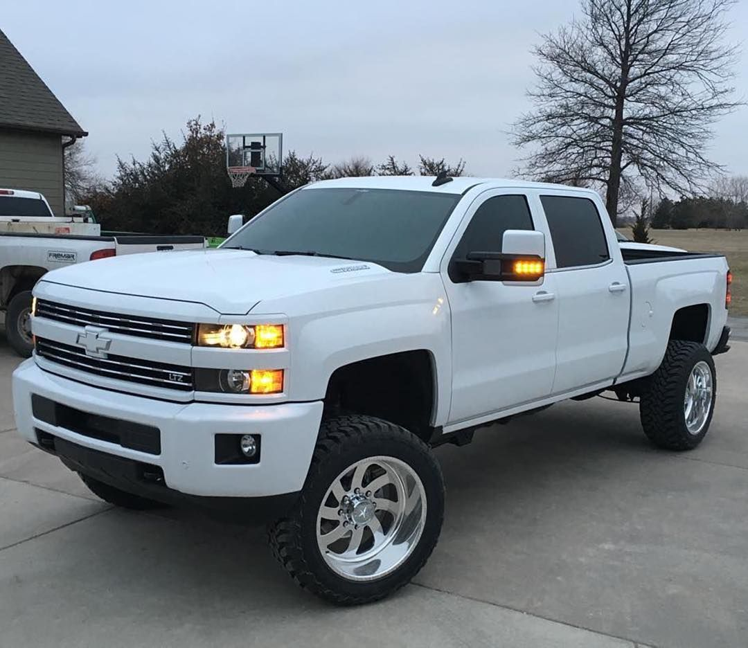 American Force — Check out this white out duramax from