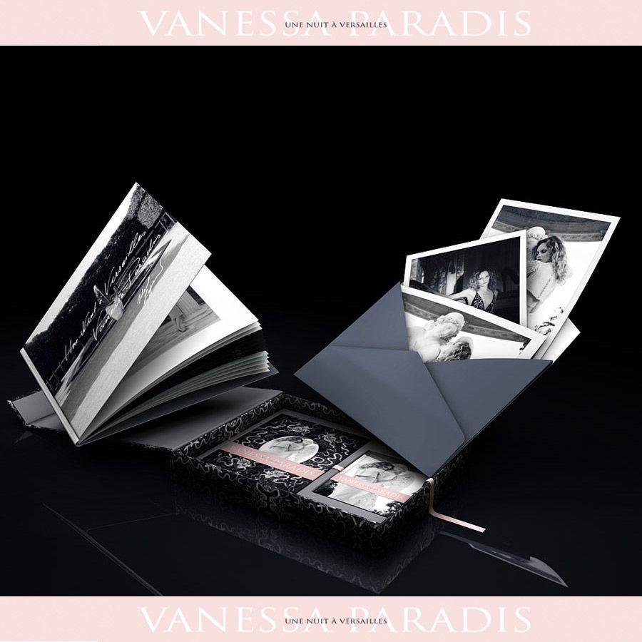 Vanessa Paradis, coffret collector Une nuit à Versailles