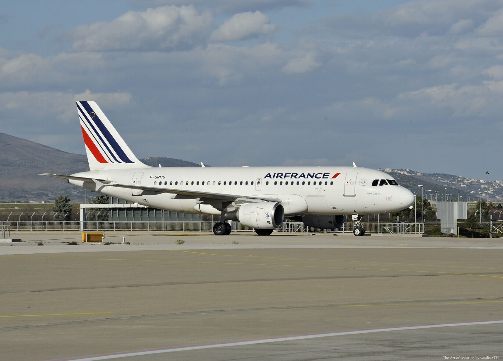 Air France Airbus A319100 cn 1271 FGRHO First Flight