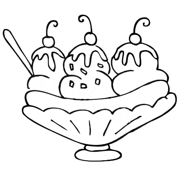 Pin By Julie West On Banana Split Coloring Pages Ice Cream Coloring Pages Coloring Pages Cartoon Coloring Pages