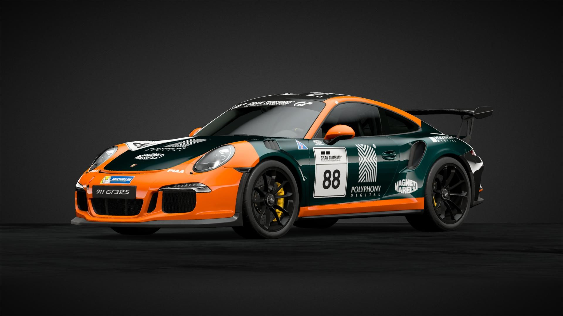 Porsche Gt3 Rs 991 Livery Design For Gran Turismo U0026 39 S Gt Sport On Sony Playstation 4