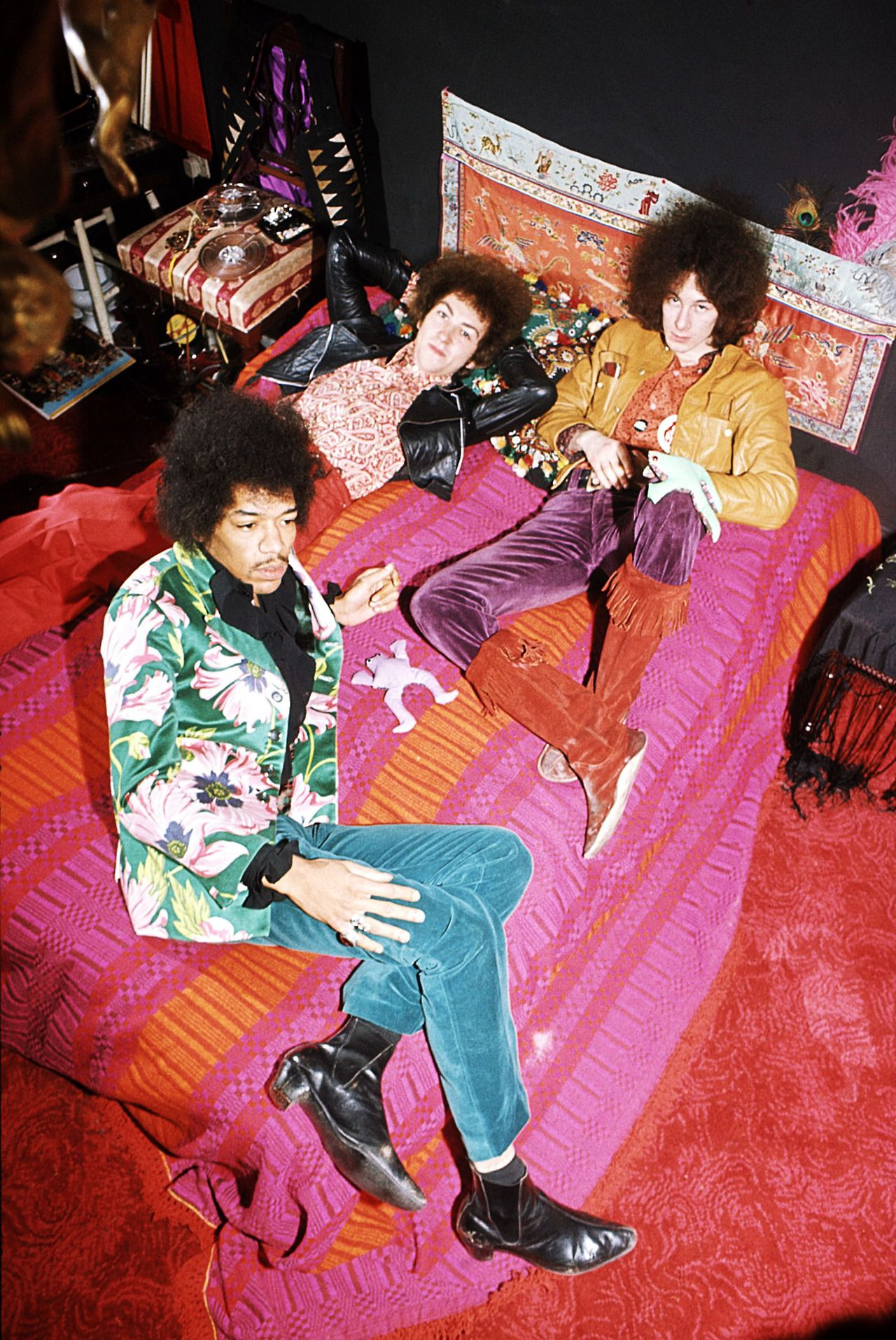 """psychedelic-sixties: """"The Jimi Hendrix Experience """""""