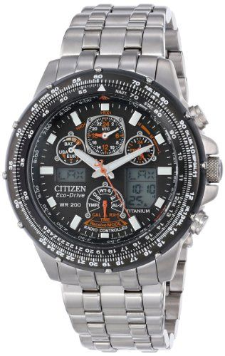 2b26275a8a4 Amazon.com  Citizen Men s JY0010-50E Eco-Drive Skyhawk A-T Titanium Watch   Citizen  Watches. Joias MasculinasCurtidasRelógios ...