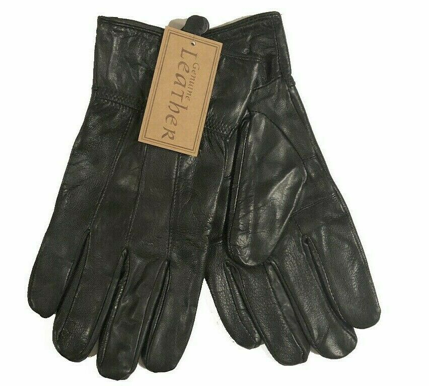 Gloves Genuine Soft Leather Mens Black 100 Wool Lining Sz Xl Driving Winter Ebay In 2020 Gloves Soft Leather Wool