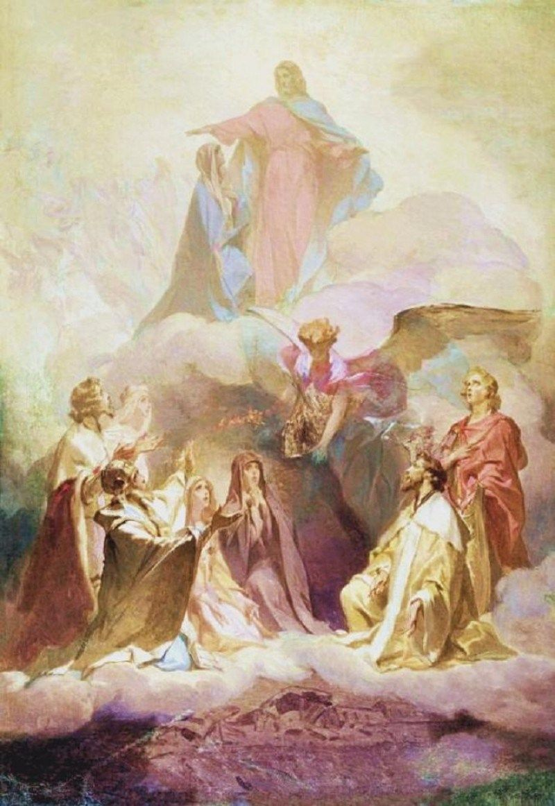 Post From October 2008 On Art And Faith Church Christ The King Introduction Of Sermon Mount
