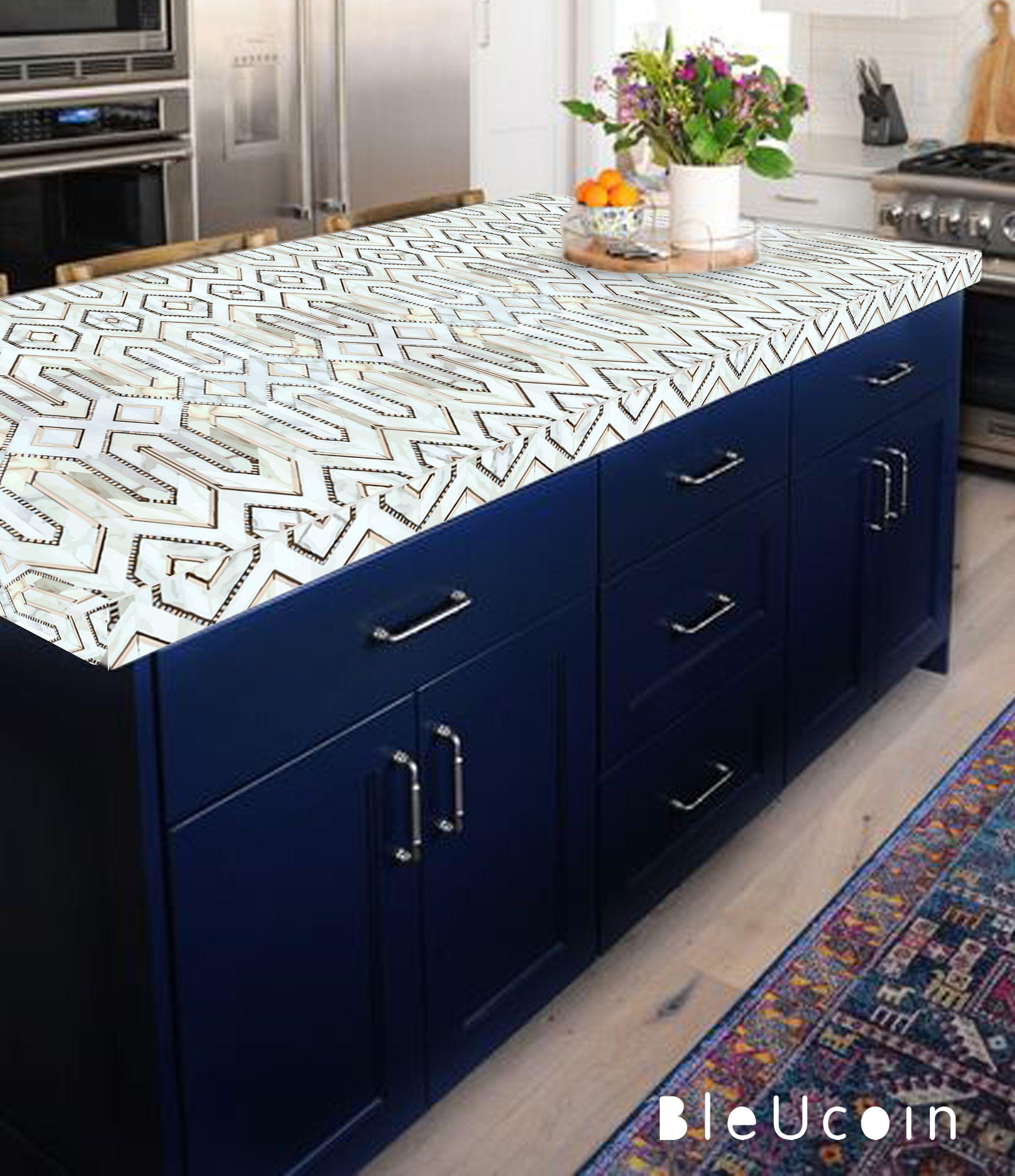 Bristol Kitchen Countertop Vinyl Panel Removable Peel Stick Etsy Kitchen Backsplash Trends Kitchen Cabinets Kitchen Trends