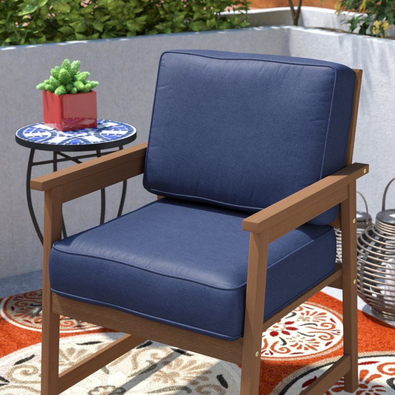 Indoor/Outdoor Lounge Chair Cushion Outdoor lounge chair