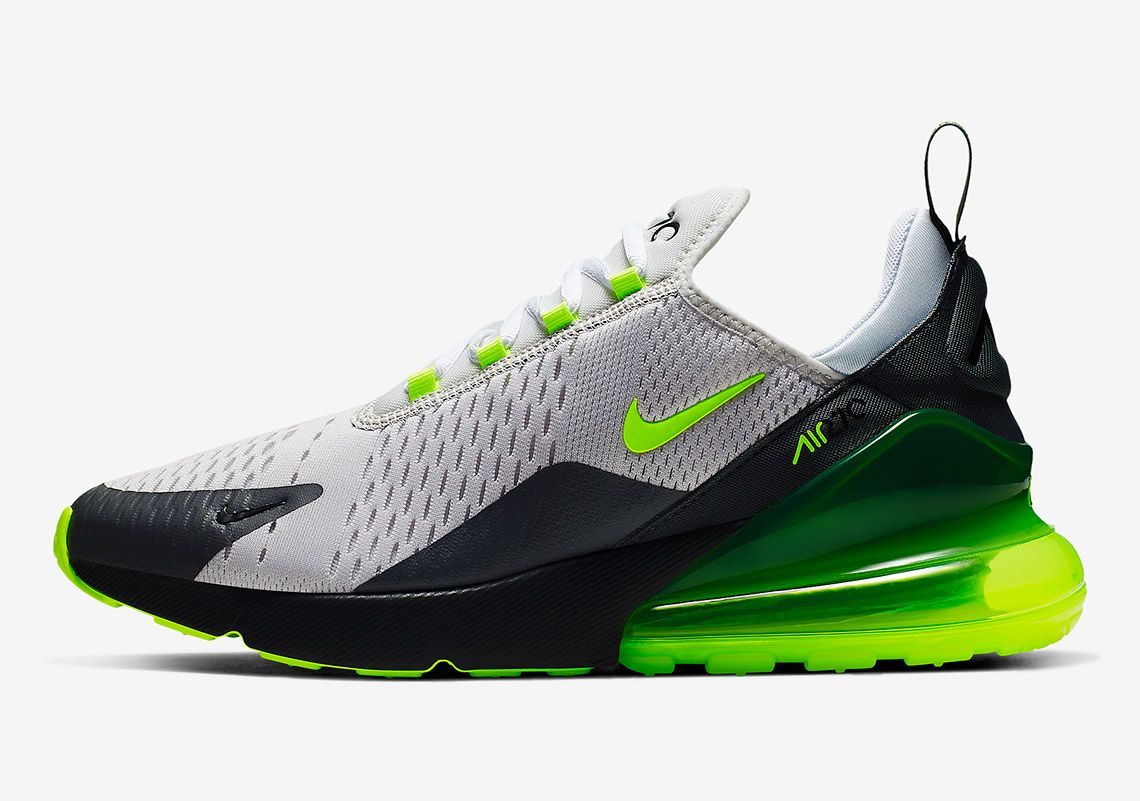 The Nike Air Max 270 Emerges In The Iconic Neon Colorway Nike Shoes Air Max Sneakers Nike Air Max Nike Air Max