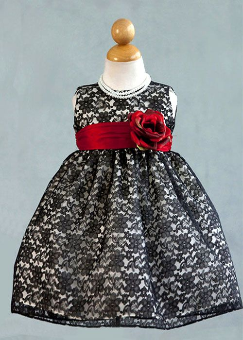Black Elegant Girl Dress