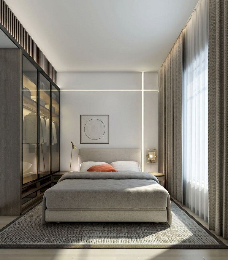 20 Best Small Modern Bedroom Ideas: 61+ Awesome Minimalist Master Bedroom Decorating Ideas