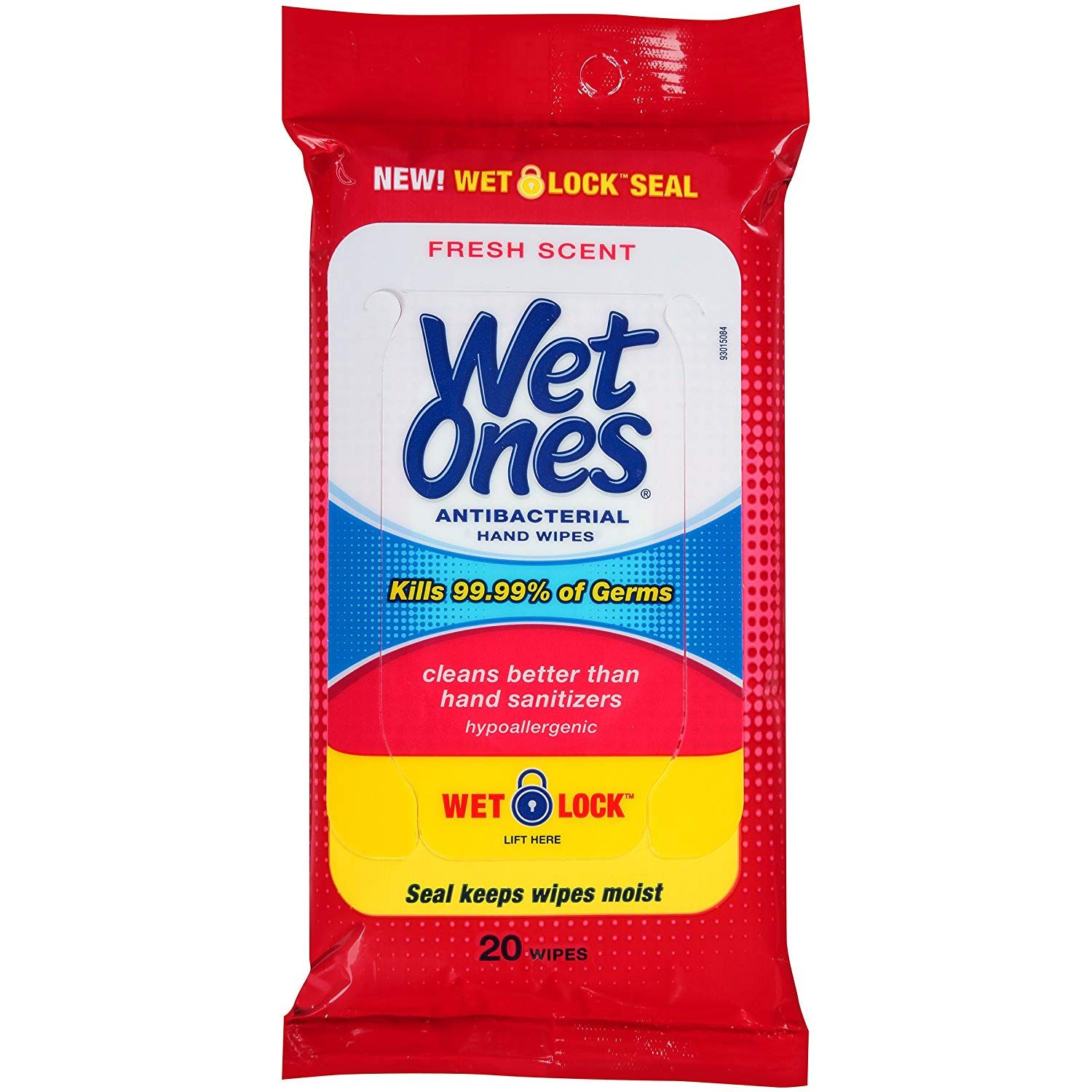 Wet Ones Antibacterial Hand Wipes Hypoallergenic In 2020