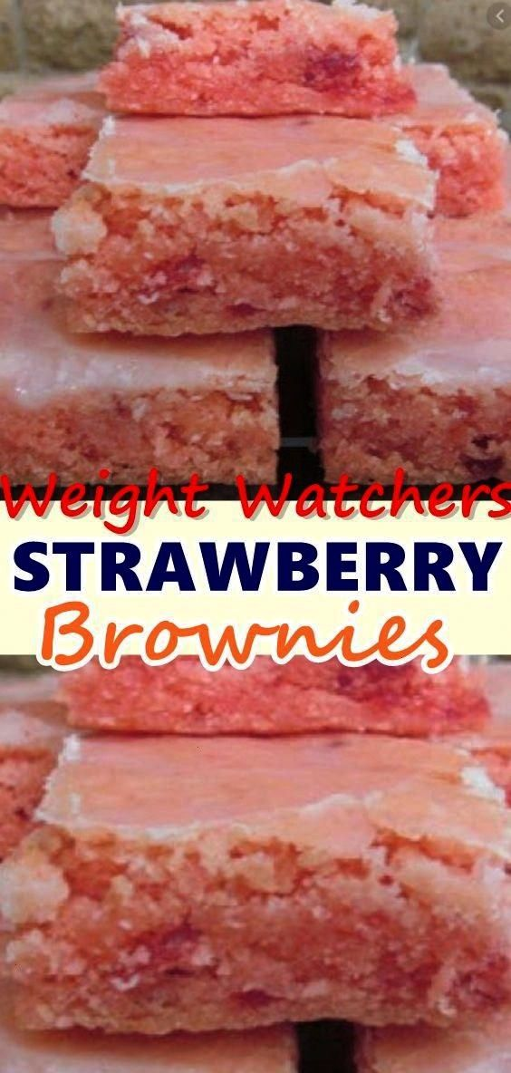 brownies are for strawberry lovers! Strawberry Brownies are best served with vanilla ice cream, fre