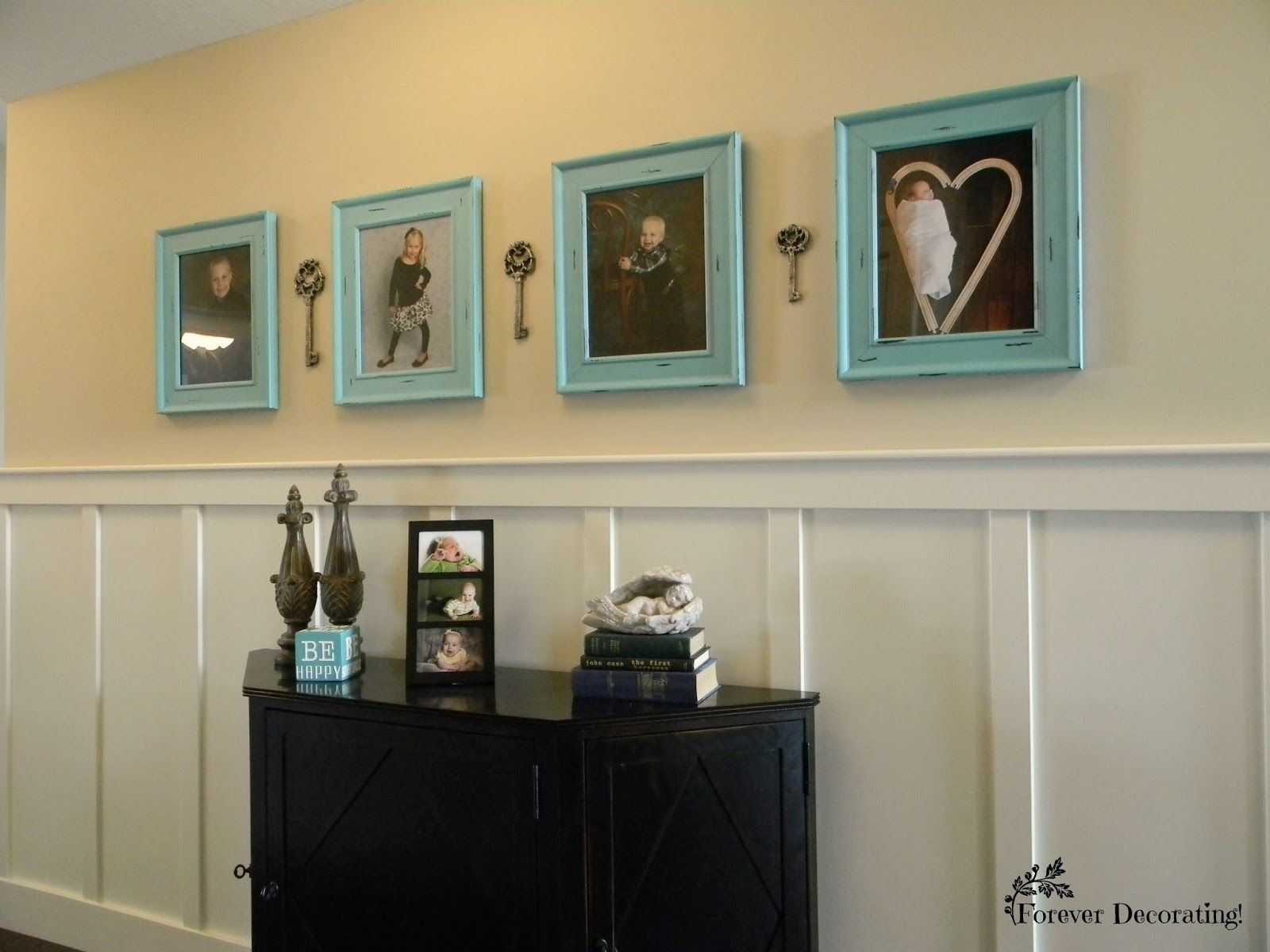 Wainscoting To The Rescue! | Marcos de fotos y cuadros | Pinterest ...