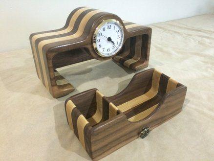 Bandsaw Clock Walnut Ash Bandsaw Boxes In 2019