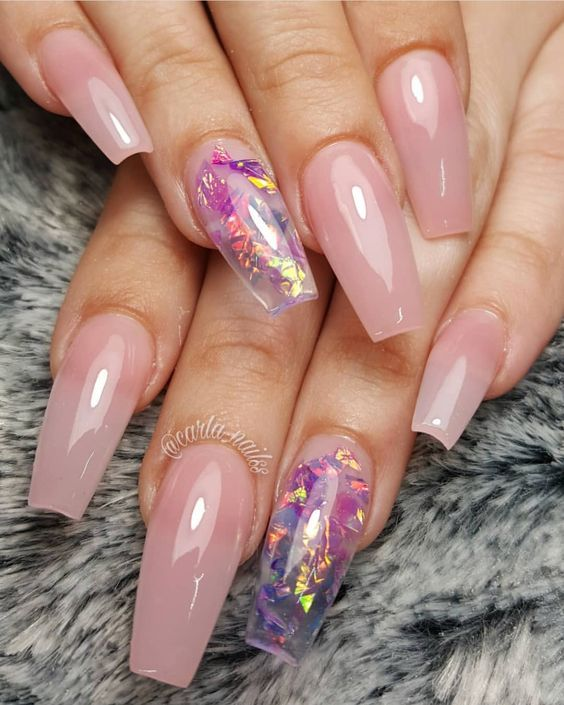 35 Nail Design Ideas For The Latest Autumn Winter Trends: 35 Stunning Pink Nail Designs You Must Try