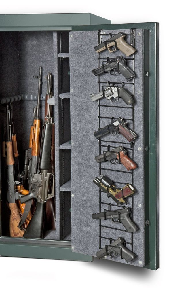 Hunting Storage Rifle Safe Shotgun Firearm Shelves Rack Hook Gun ...