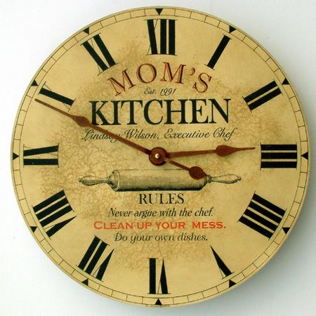 kitchen clock. beautiful ideas. Home Design Ideas