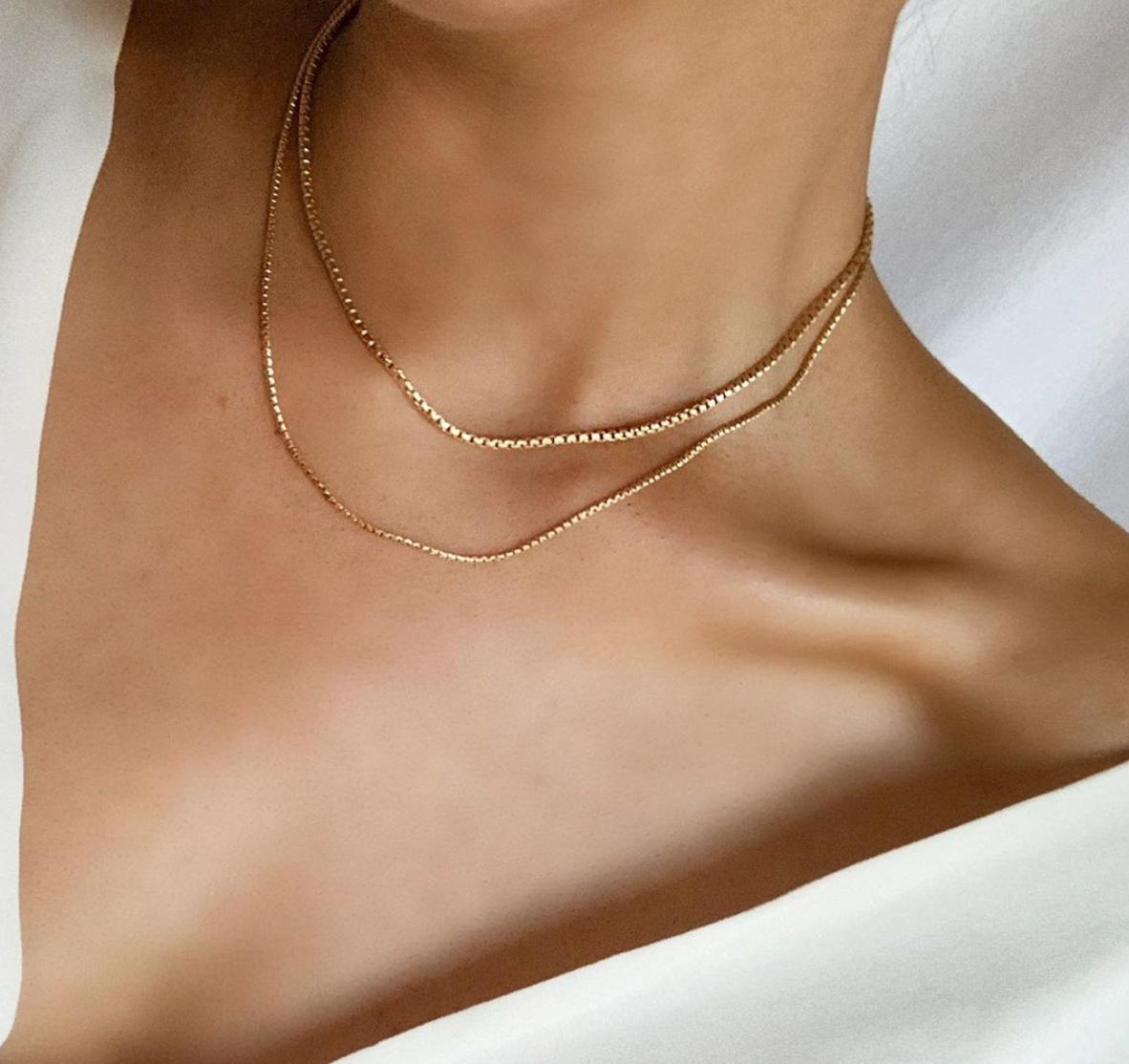 Minimalist Gold Chains