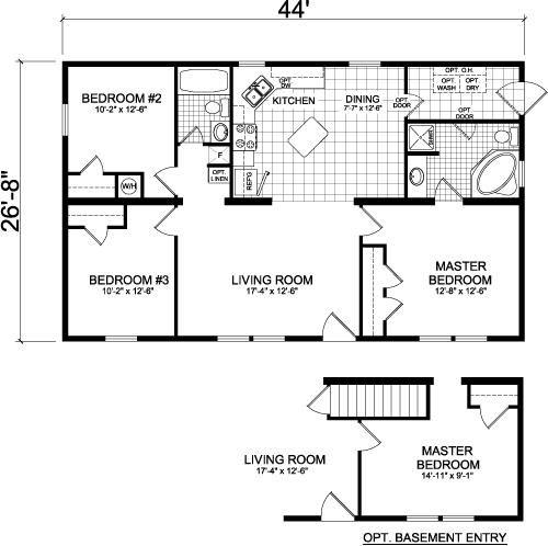 Modular Home Floor