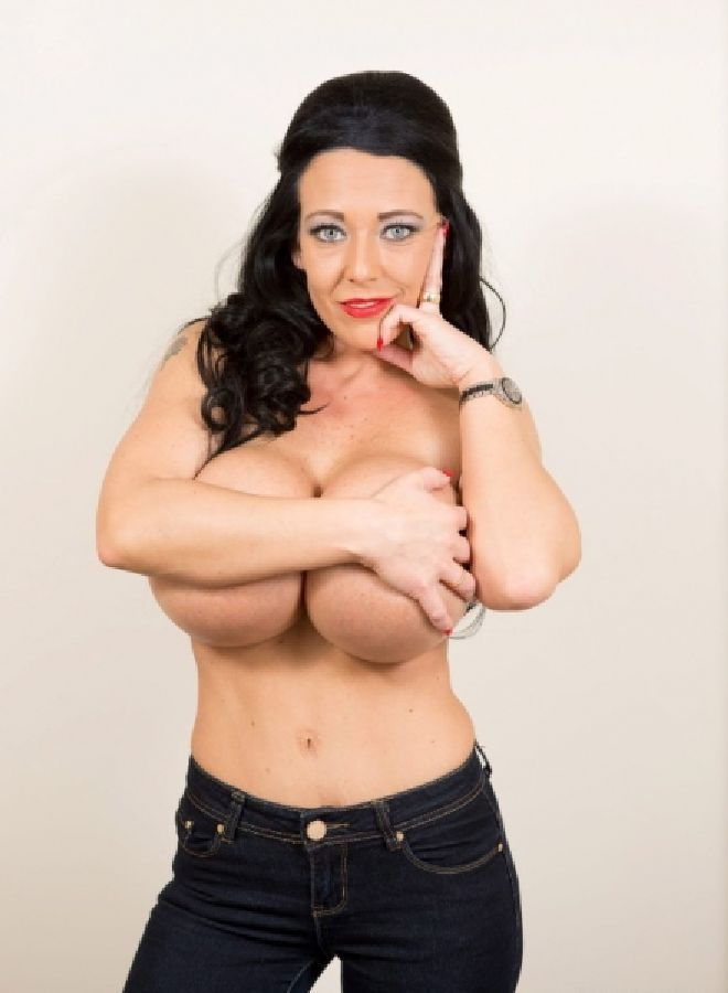 The biggest silicone breasts in Europe