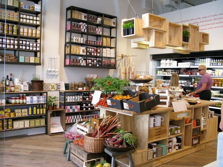 Space Is MUCH Bigger Than What Weu0027re Looking For, But Like Natural Wood.  Deli ShopCake Shop DesignStore ...