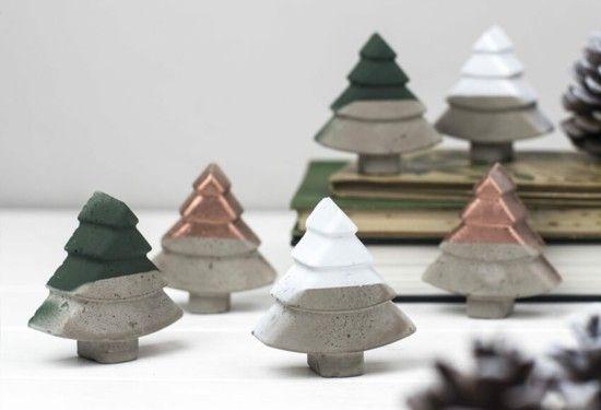 Kreative Beton Deko selber machen zu Weihnachten – Anleitung, Tipps und Inspirationsideen
