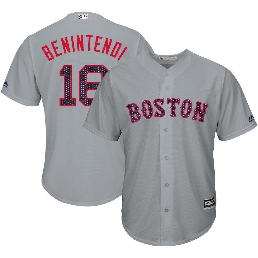 release date 5e3af 25fbd Andrew Benintendi Boston Red Sox Majestic 2018 Stars ...