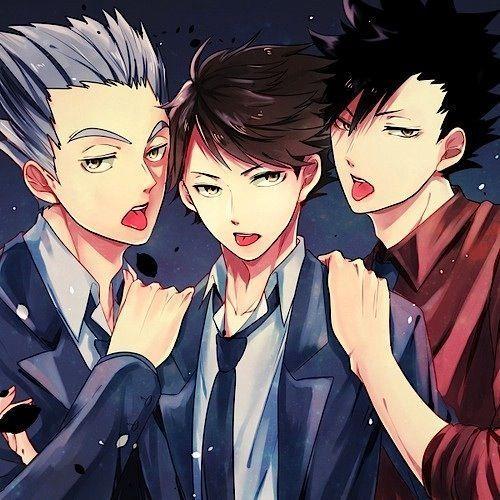 THE BRO BOOK ( Kuroo,Bokuto and Oikawa)