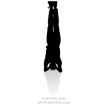yoga headstand — sportsartzoo  headstand yoga headstand