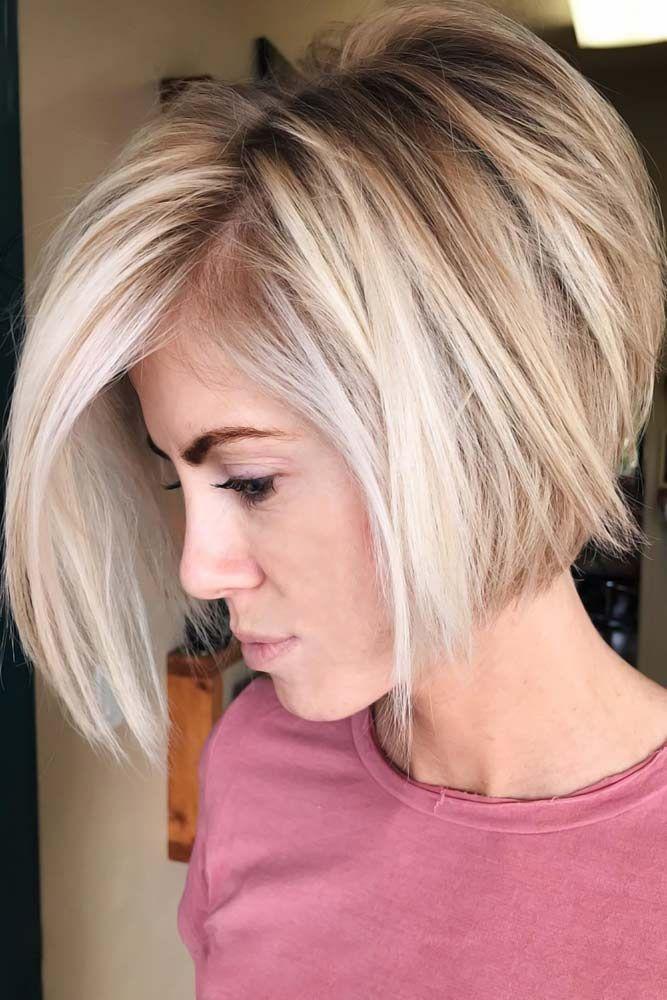 50 Stylish Layered Bob Hairstyles #layeredbobhairstyles