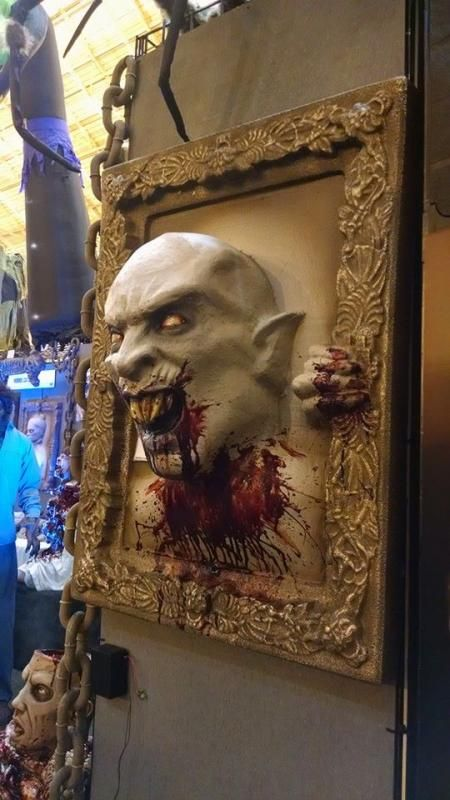 Distortions Unlimited 2015 vampire Creepy Halloween Props and