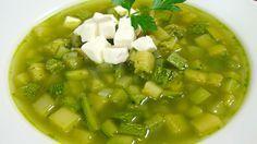 Sopa de calabacitas, papa y cilantro | Cocina y Comparte | Recetas