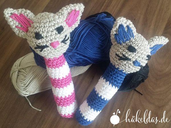 Gratis Babyrassel Katze/Kater Anleitung | hund | Pinterest ...