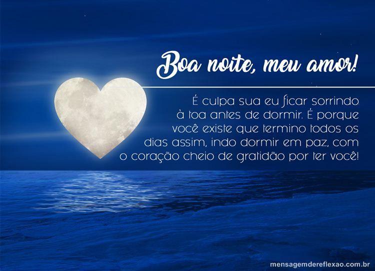 Boa Noite Amor Boa Noite Namorada Boa Noite Amor