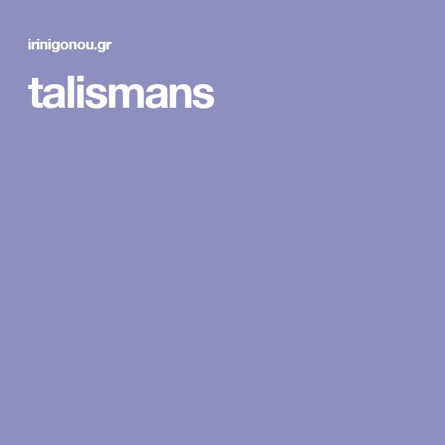 talismans