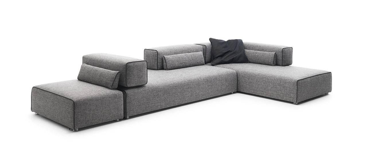 Sofa modern braun  Leolux Ponton Next. Design: Braun & Maniatis, 2008. | Design ...