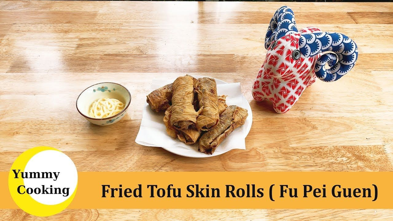 friedtofuskinroll friedtofurecipe tofurecipefried Tofu