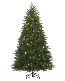 NOMA Pre-Lit 7.5-ft One Minute, One Plug Christmas Tree ...