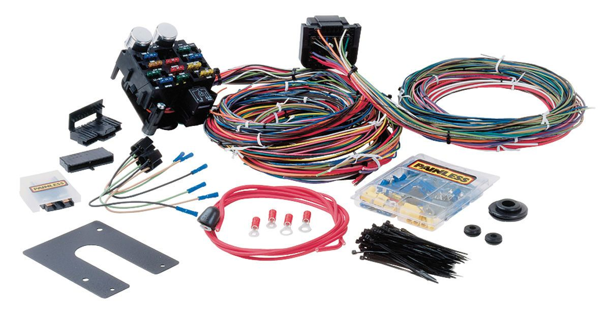 1978 88 el camino painless performance wiring harness universal el camino painless performance wiring harness universal style muscle car classic