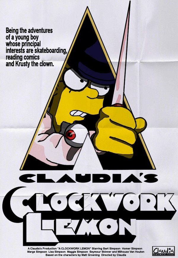 Hilarious Movie Parody Posters Starring The Simpsons The Simpsons The Simpsons Movie Simpsons Characters
