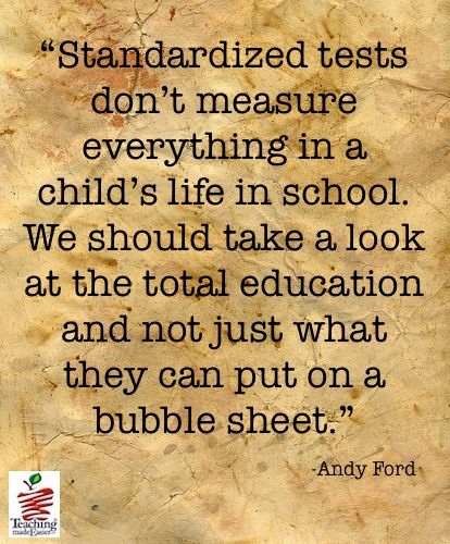should the standardized test be the Standardized testing essays - the case against standardized tests.