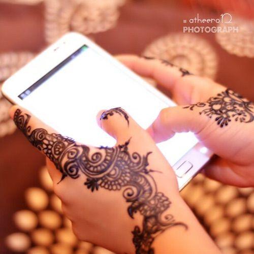 Image Via We Heart It Heart Tumblr حنا يد حناء اسود حنه جوالي Unique Henna Beautiful Henna Designs Henna Hand Tattoo