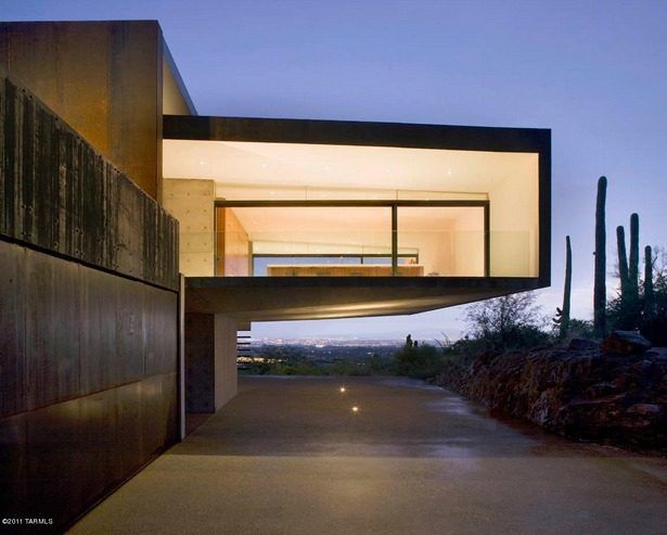 Awesomely Austere Tucson Mansion Designed By Rick Joy