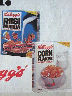 Kellogg'sin mainos 70-luvulta.