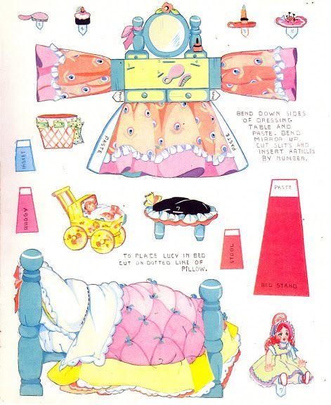 Housekeeping with the Kuddle Kiddies Saafield 1936 #2140