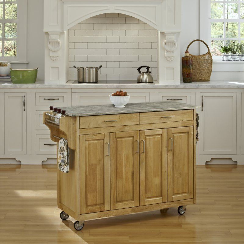 home styles nantucket kitchen island white house samples sanded and ...