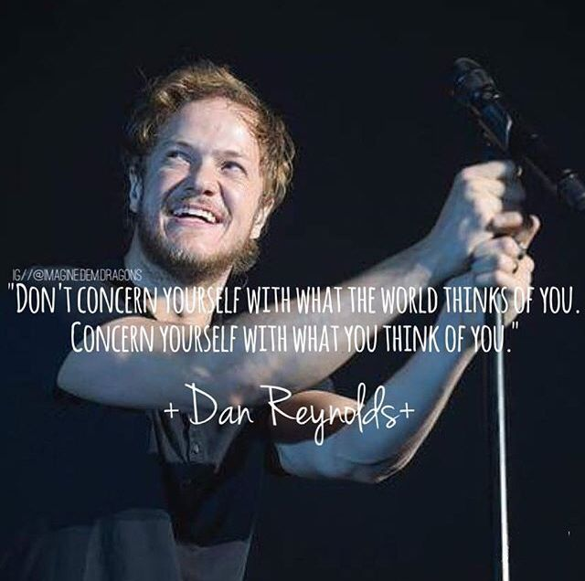 #Imagine Dragons #Quotes | Quotes in 2019 | Believer ...Dan Reynolds Imagine Dragons 2014