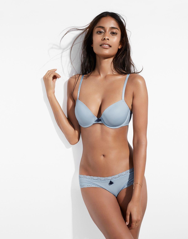 0e3e7be2ad6e9 Sky blue Diva full coverage bra | Simons #maisonsimons #miiyu #lingerie  #loungewear