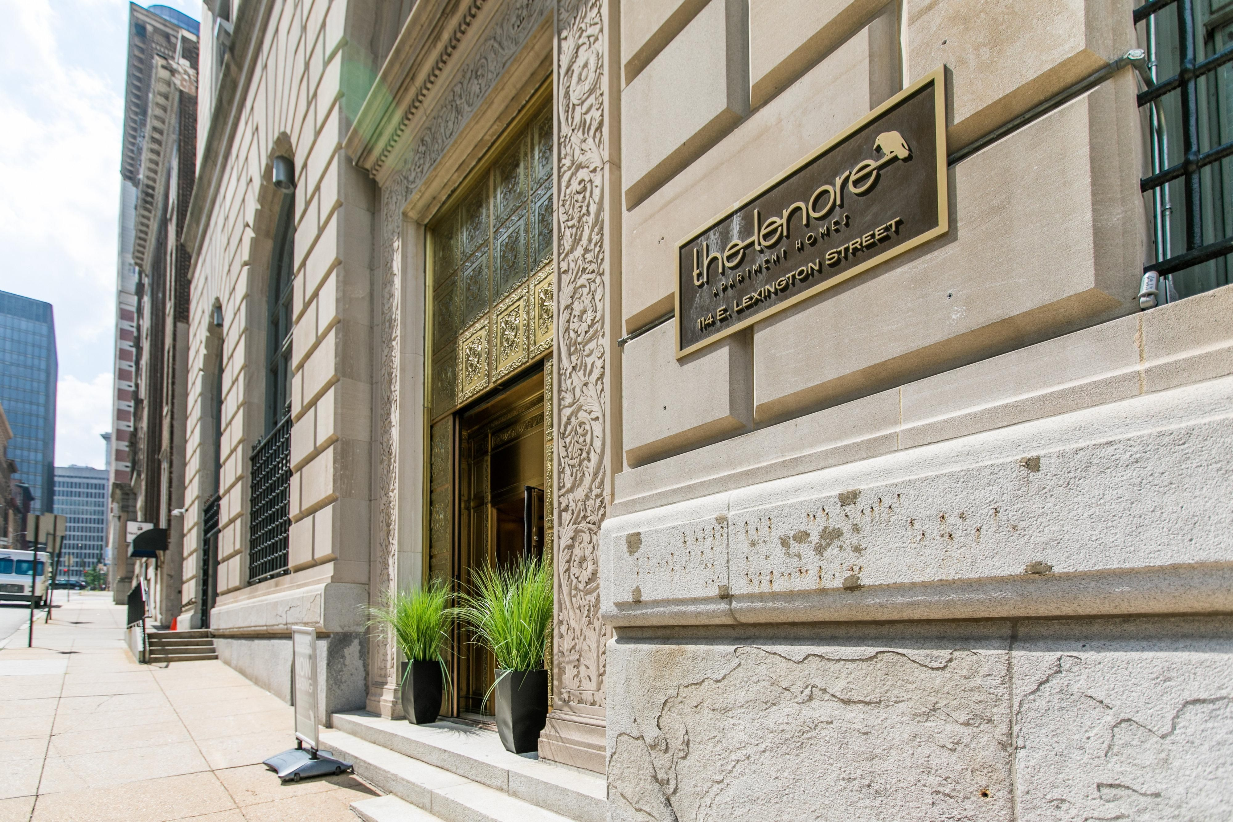 Luxury Apartments in Downtown Baltimore The Lenore