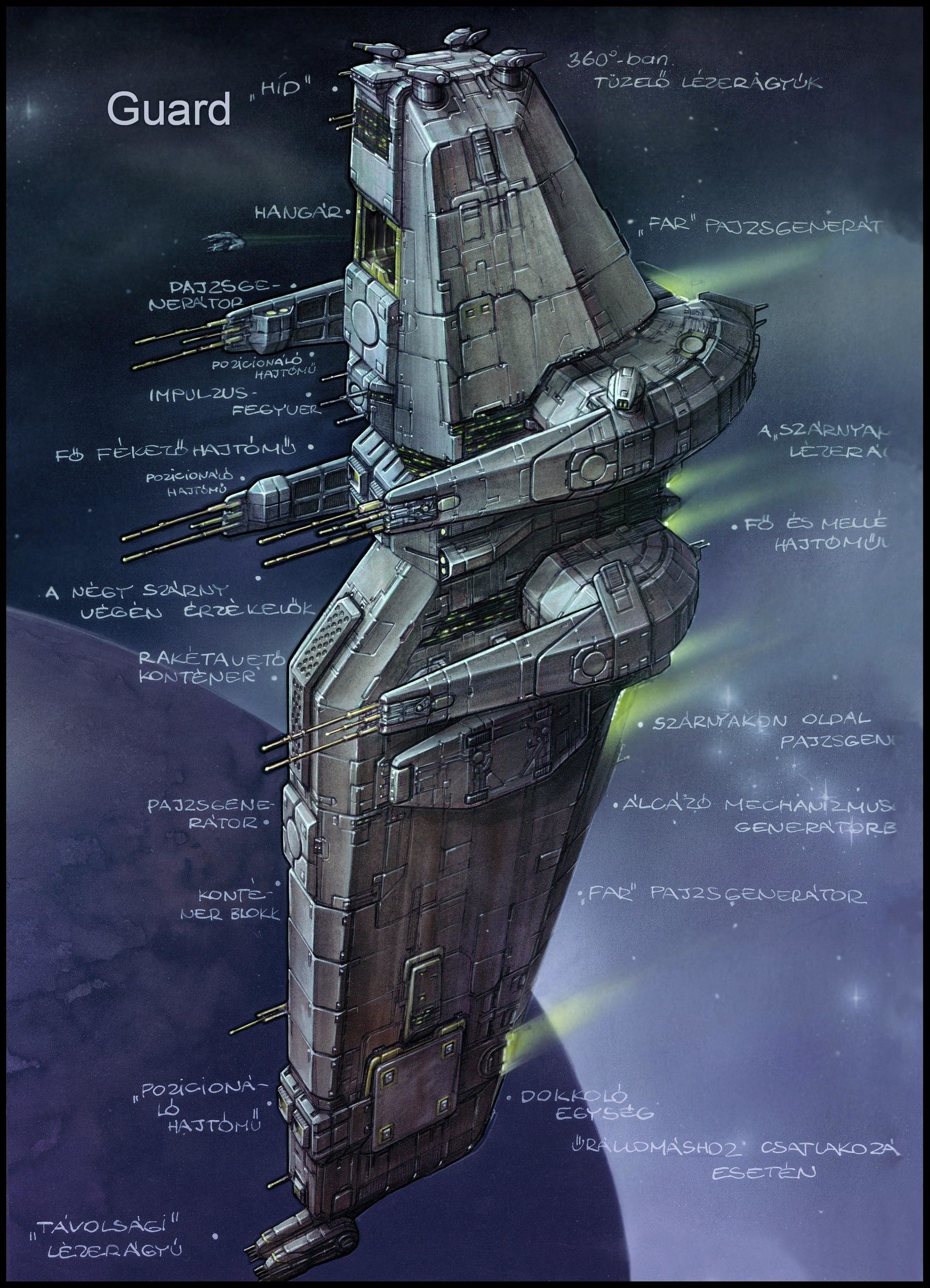 Nexus Spaceship Concepts Karoly Gogos Space Ship Concept Art Spaceship Concept Spaceship